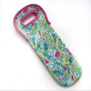 Lilly Pulitzer Tropical Storm Insulated Wine Tote